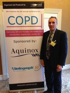 Dr. Stephen Shrewsbury at COPD.