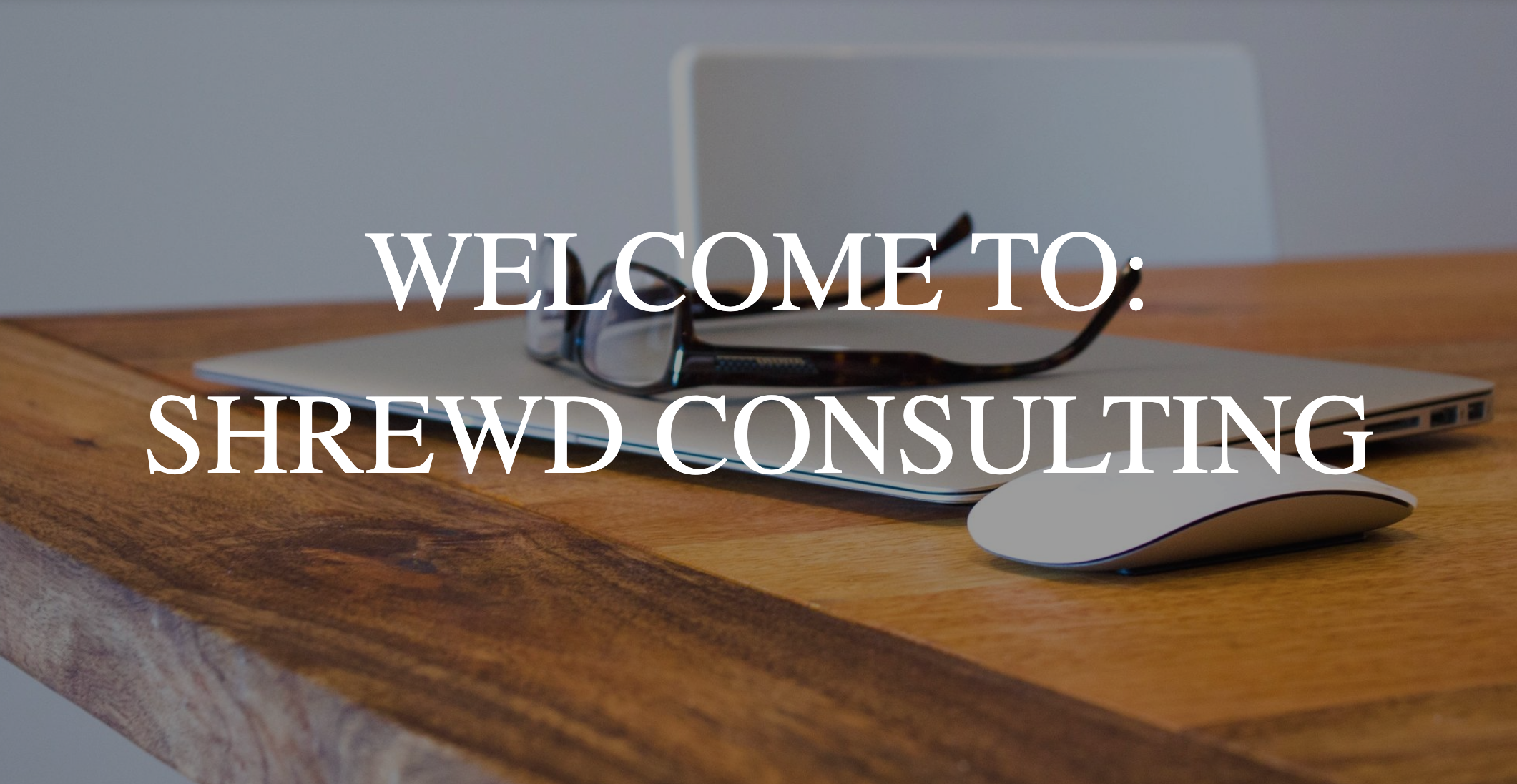 Welcome to Shrewd Consulting